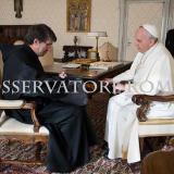 Incontro tra Papa Francesco e il Priore Generale