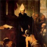 San Tommaso da Villanova - Saint Thomas of Villanova - Santo Tomás de Villanueva
